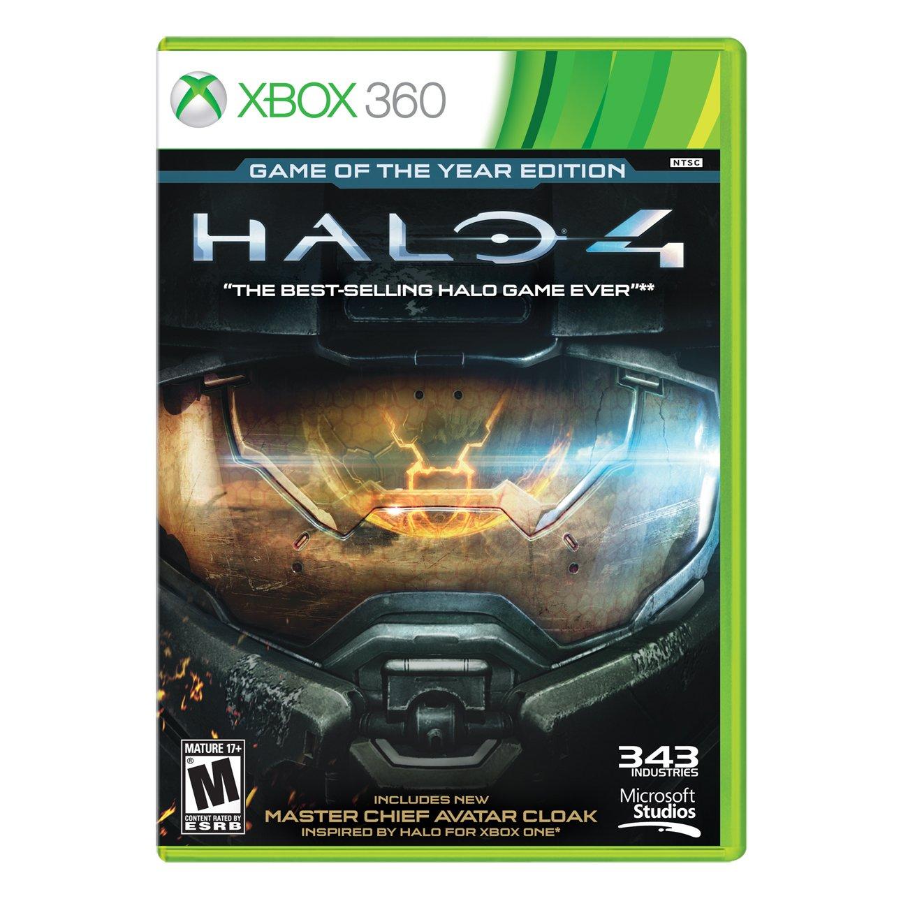 XBOX 360 Video Game-HALO 4