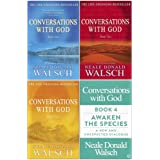 Conversations with God Neale Donald Walsch 4 Books Collection Set - Awaken the Species