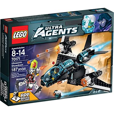 LEGO Ultra Agents Ultrasonic Showdown (70171): Toys & Games [5Bkhe2003623]