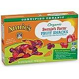 Annie's Organic Bernie's Farm Fruit Snacks,0.8 Ounce,5 Count