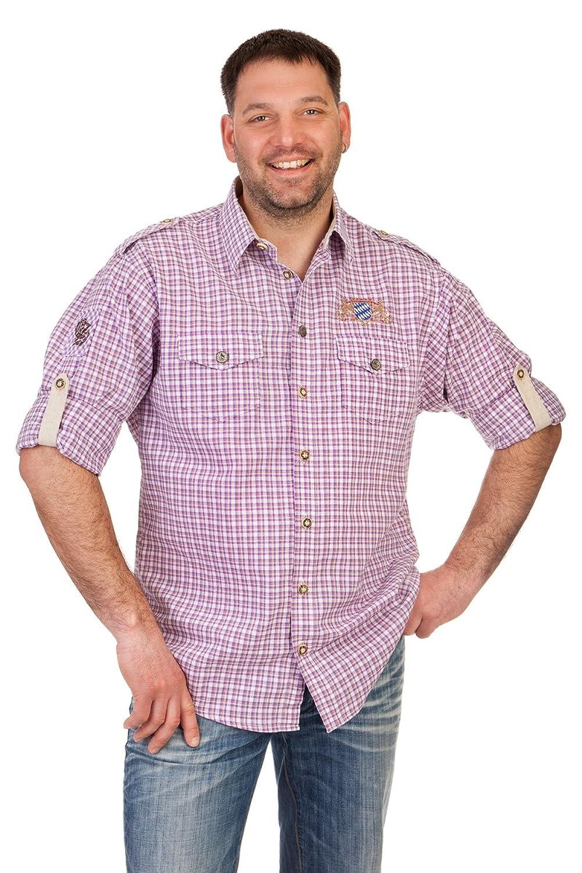 Orbis Textil H100 - Trachtenhemd mit Krempelarm