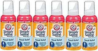 product image for Arm & Hammer Simply Saline Nasal Mist Giant Size: 6 Packs of 4.25 Oz