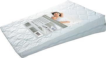 Travesseiro Antirrefluxo Adulto 60X83X15, Fibrasca, Revestimento 100% Algodão Percal, Branco