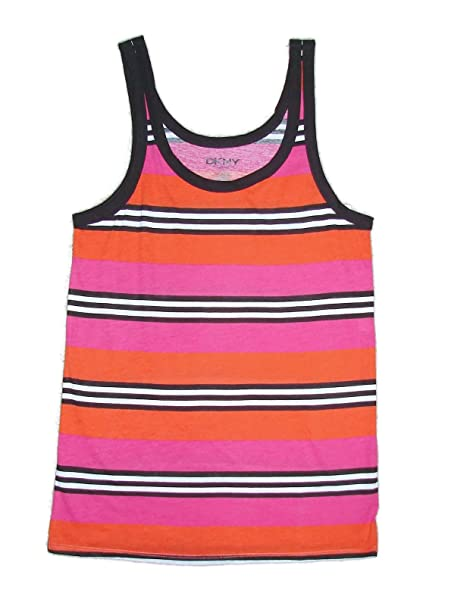 663eb99992d5d DKNY Intimates Pier Side Lounging Sleeveless Tank Pajama Top Pink ...