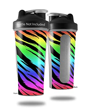 Tiger Rainbow - para estilo Skin Wrap para licuadora botella ...