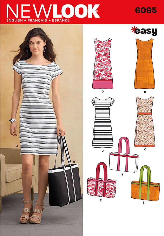 New Look NL6095 Schnittmuster Kleid, 22 x 15 cm: Amazon.de: Küche ...