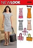 New Look U06095A Misses Dresses Sewing Pattern