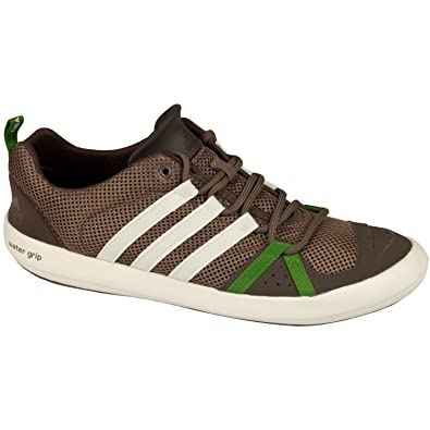 sale retailer 35236 f2661 adidas Mens Boat CC Lace Shoes, Color Grey BlendespressoSpray,