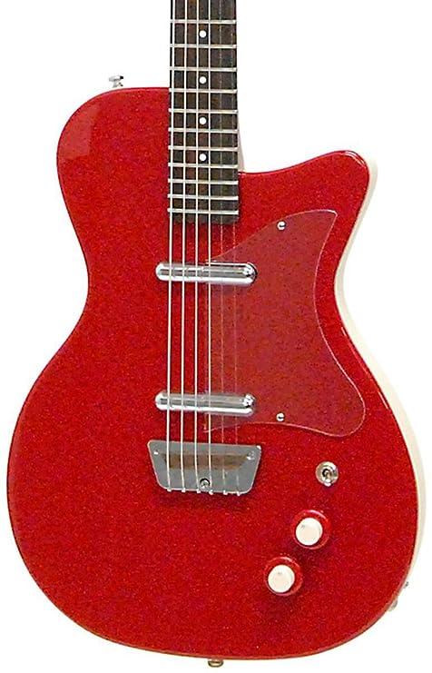 Danelectro 56 Reissue barítono – Guitarra eléctrica, color rojo
