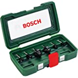 Bosch 6pcs 6mm Router Bit Set