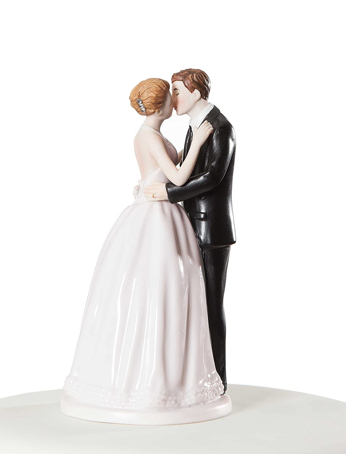 Amazon Wedding Collectibles Romance Kissing Couple Cake Topper Figurine Kitchen Dining
