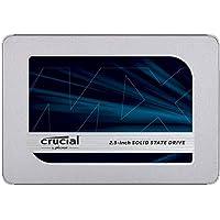 Crucial クルーシャル SSD 500GB MX500 SATA3 内蔵2.5インチ 7mm CT500MX500SSD1 9.5mmアダプター付【3年保証】 [並行輸入品]