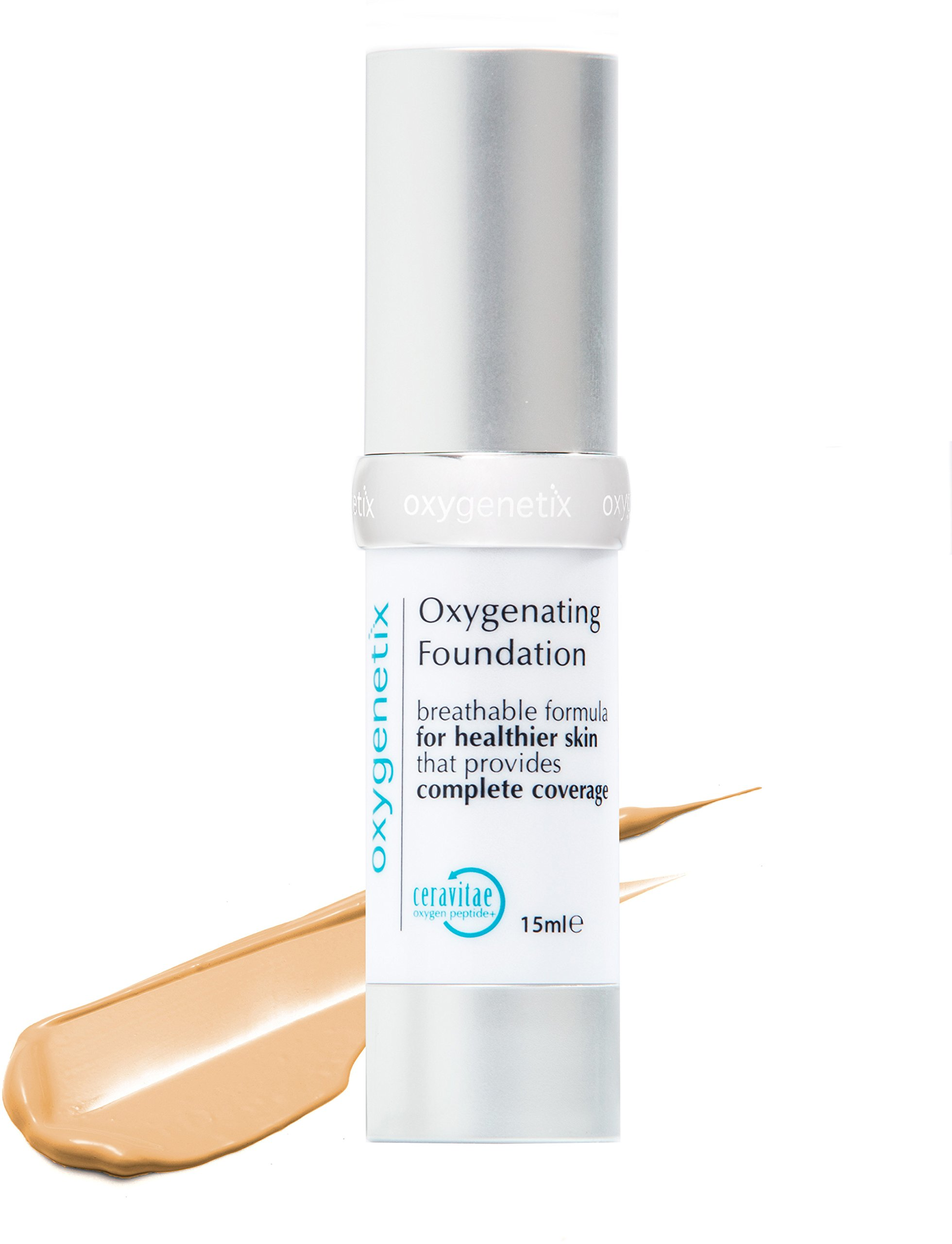 Oxygenetix Oxygenating Foundation, Beige by Unknown