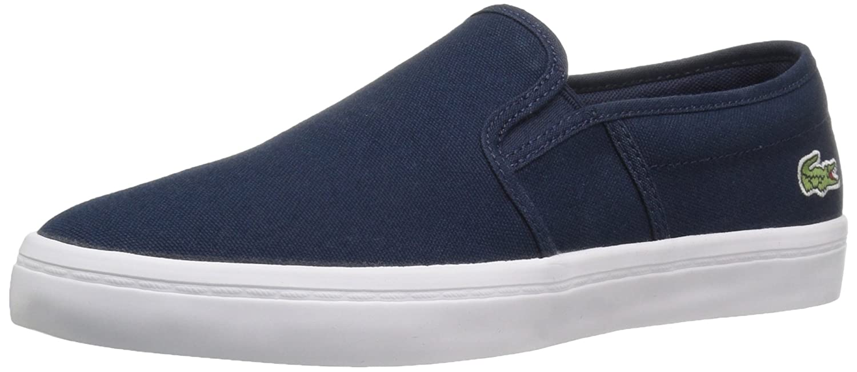 Lacoste Gazon Hombre US 7.5 Azul Mocasín: Amazon.es: Zapatos y complementos
