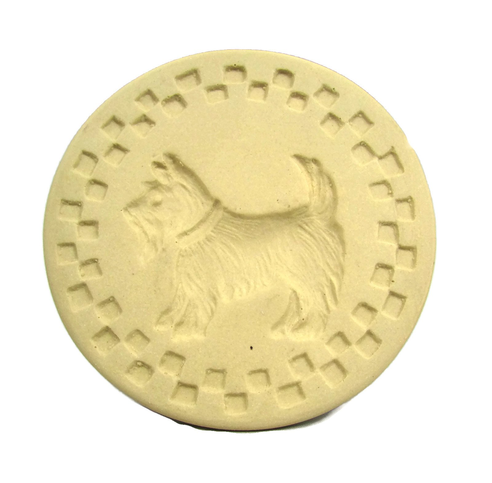 Brown Bag Scotty Dog Cookie Stamp - New 2014