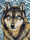 Reeves - Pintar por números junior, mediano, lobo