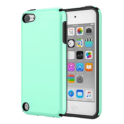 low priced f49aa 81662 MoKo Case Fit iPod Touch 2019 Released iPod Touch 7 / iPod Touch 6 / iPod  Touch 5, 2 in 1 Shock Absorbing TPU Bumper Ultra Slim Protective Case with  ...