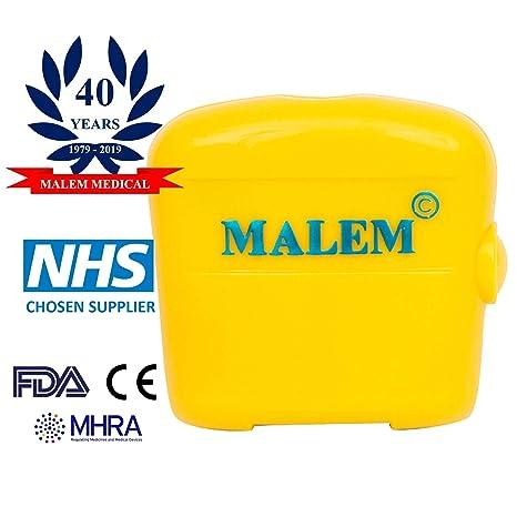 Alarma de enuresis de audio Malem MO3 - amarillo (8 tonos ...