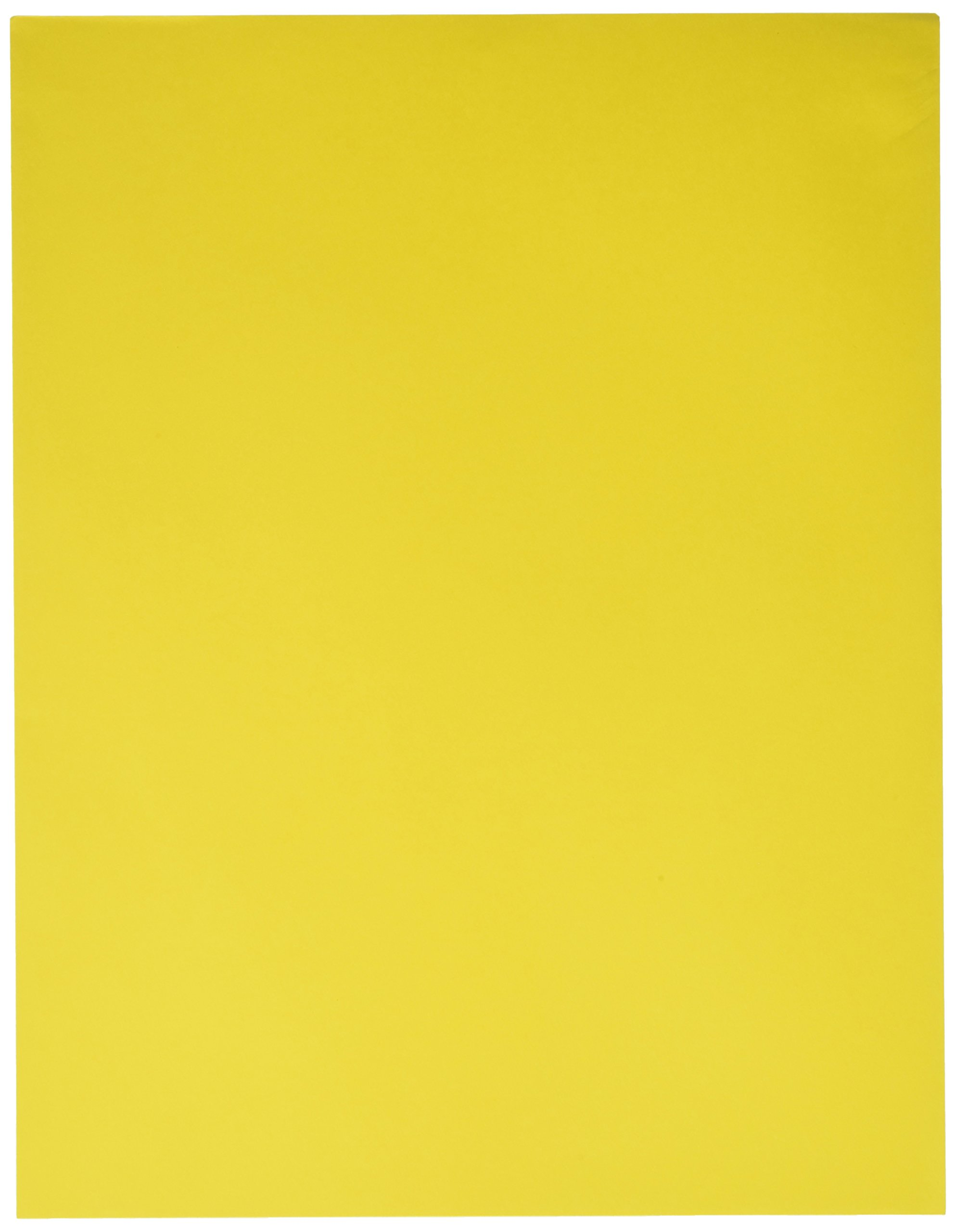 Astrobrights 21538 Acid-Free Copy Paper, 24 lb, 2.5'' Height, 8.5'' Width, 11'' Length, Solar Yellow (Pack of 500)
