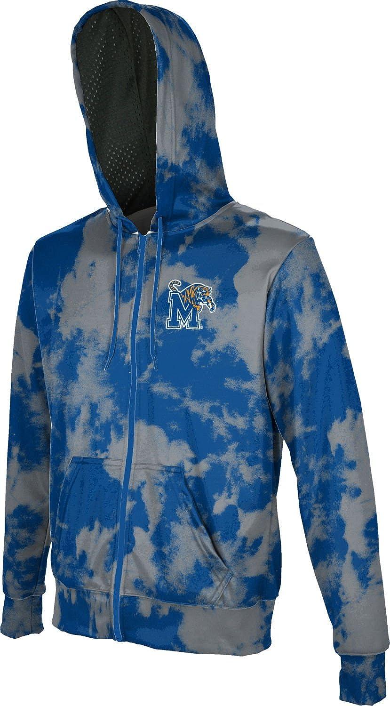Grunge ProSphere University of Memphis Boys Zipper Hoodie School Spirit Sweatshirt
