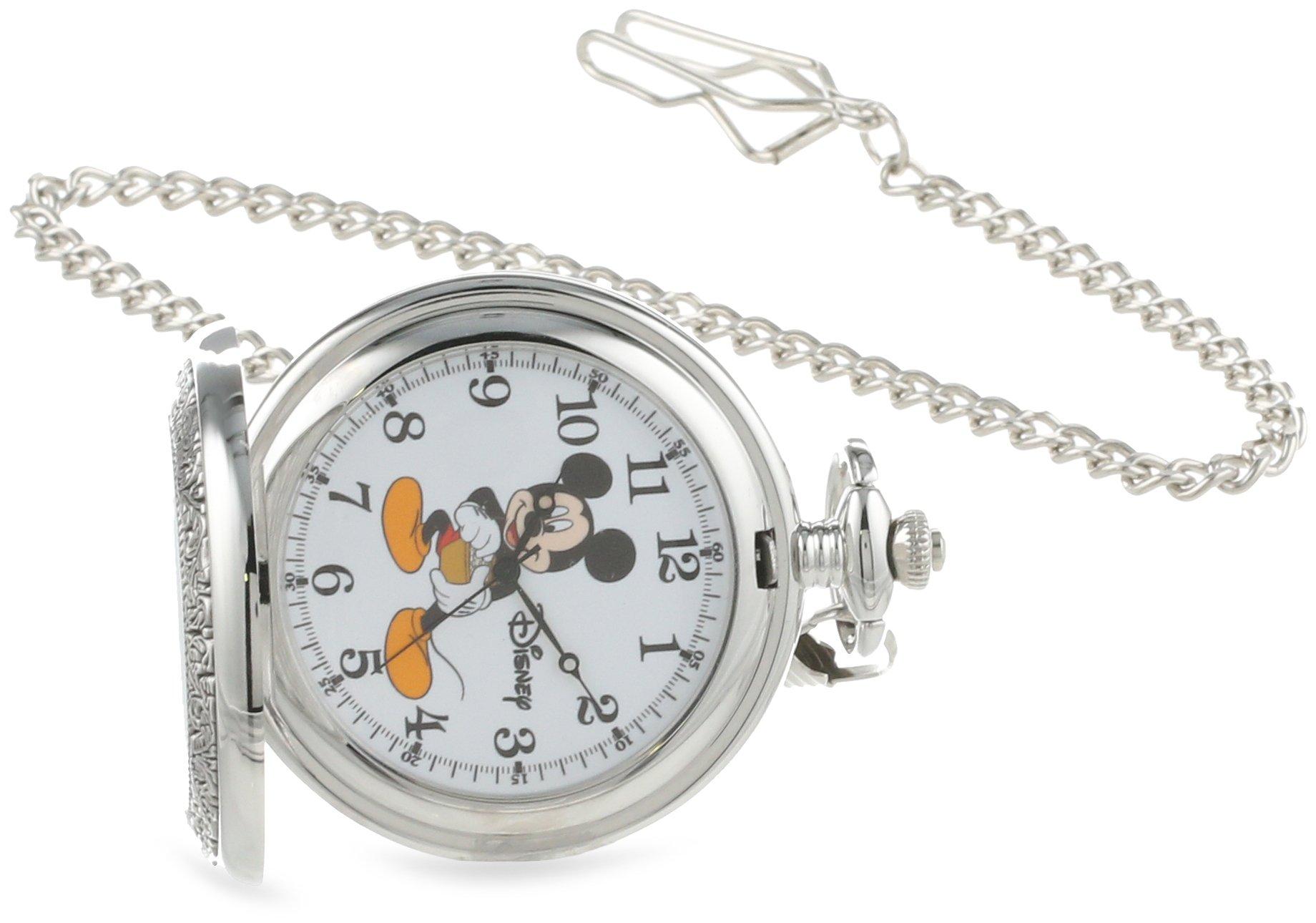 Disney Men's W000459 Mickey Mouse Pocket Watch