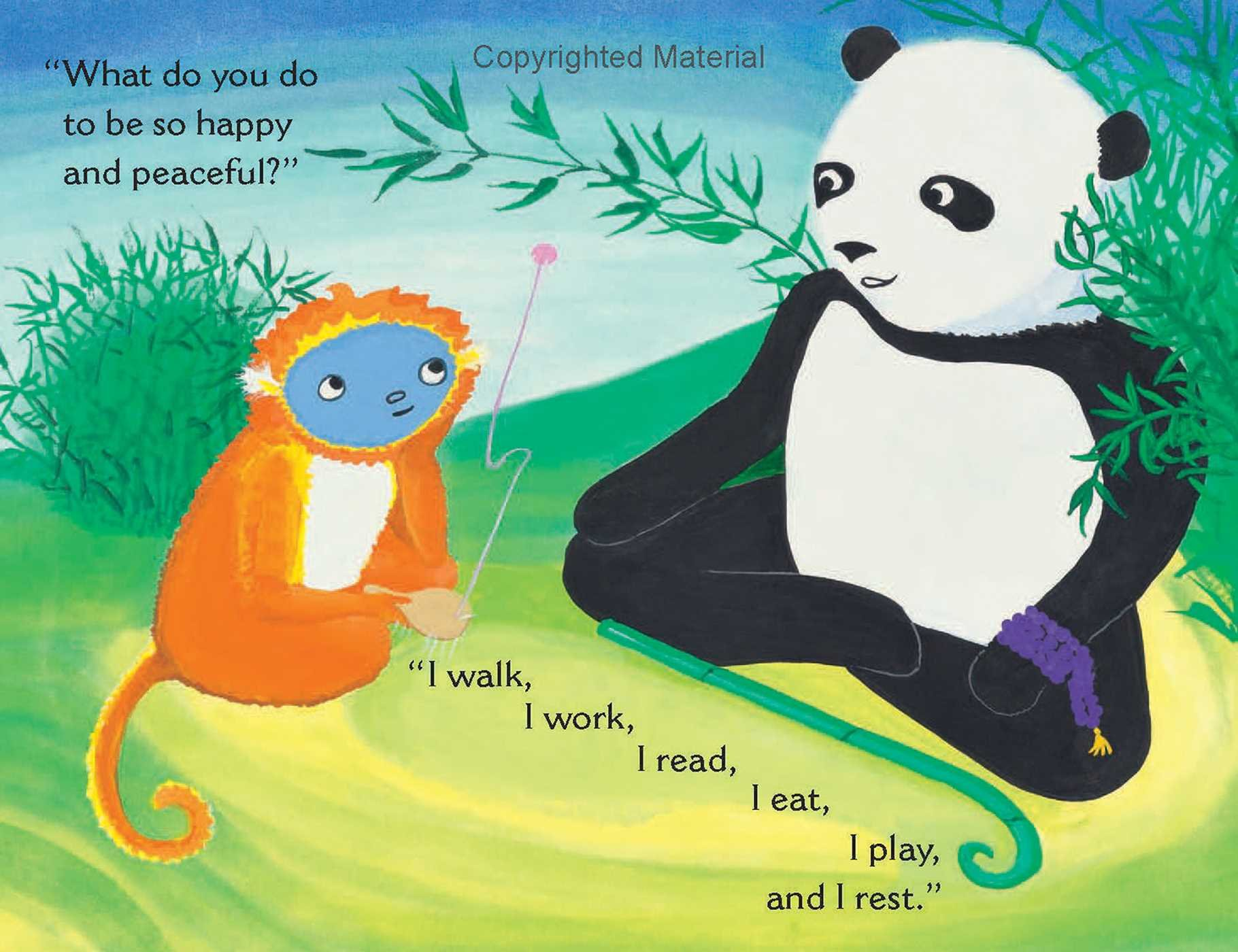 Mindful Monkey, Happy Panda by Wisdom Publications (Image #1)