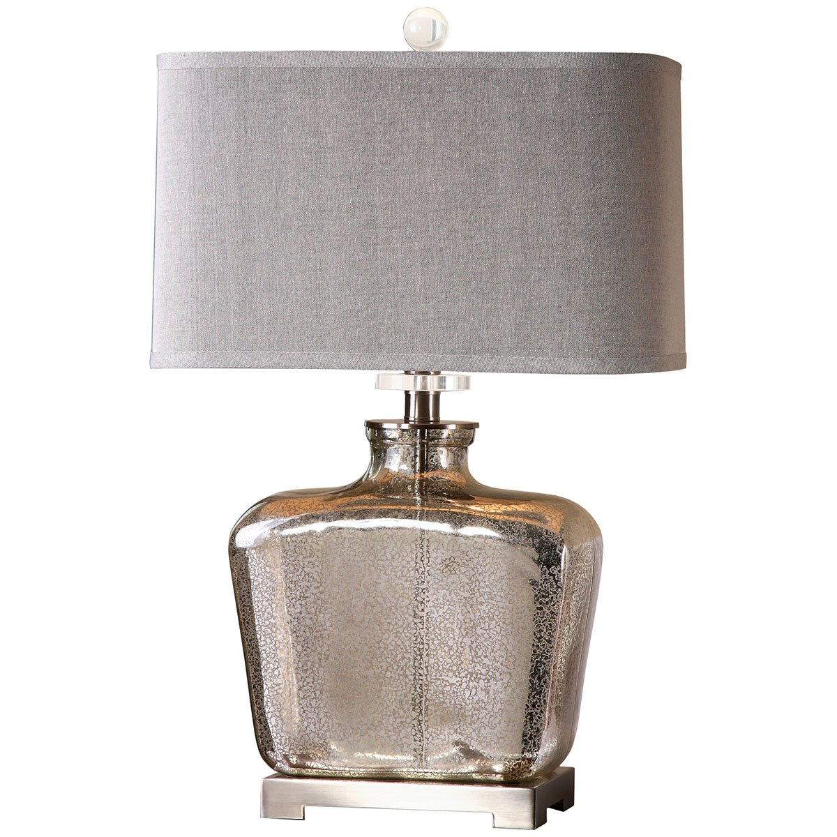 Amazoncom Uttermost 268511 Molinara Mercury Glass Table Lamp