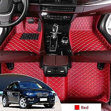 FORD FIESTA 1996-2002 MK 4//5 Tailored Carpet Car Floor Mats BLACK MAT RED TRIM