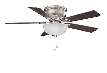 44 inch ceiling fan with light blade litex csu44bnk5c1 crosley collection 44inch ceiling fan with five reversible maplewalnut blades