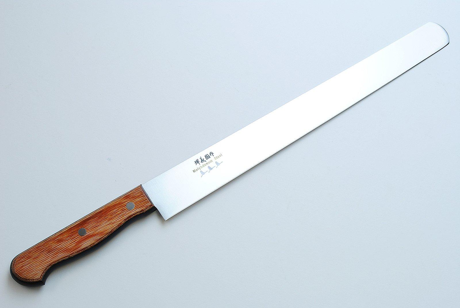 YOSHIHIRO VG-1 High Carbon Stainless Steel Japanese Pastry Knife 14.1-inch 360mm Yoshikuni Series
