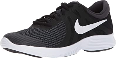 Incorrecto represa marrón  Amazon.com | Nike Kids' Revolution 4 (Gs) Running Shoe | Running