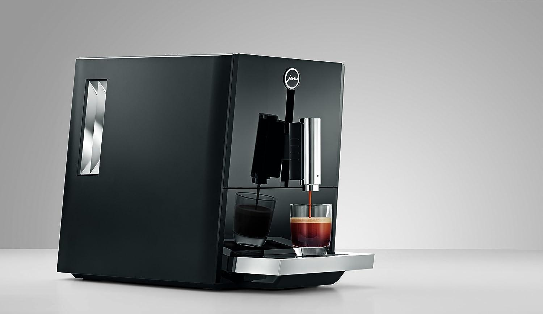 JURA A1 Piano Black Independiente Máquina espresso Negro 1,1 L 9 ...