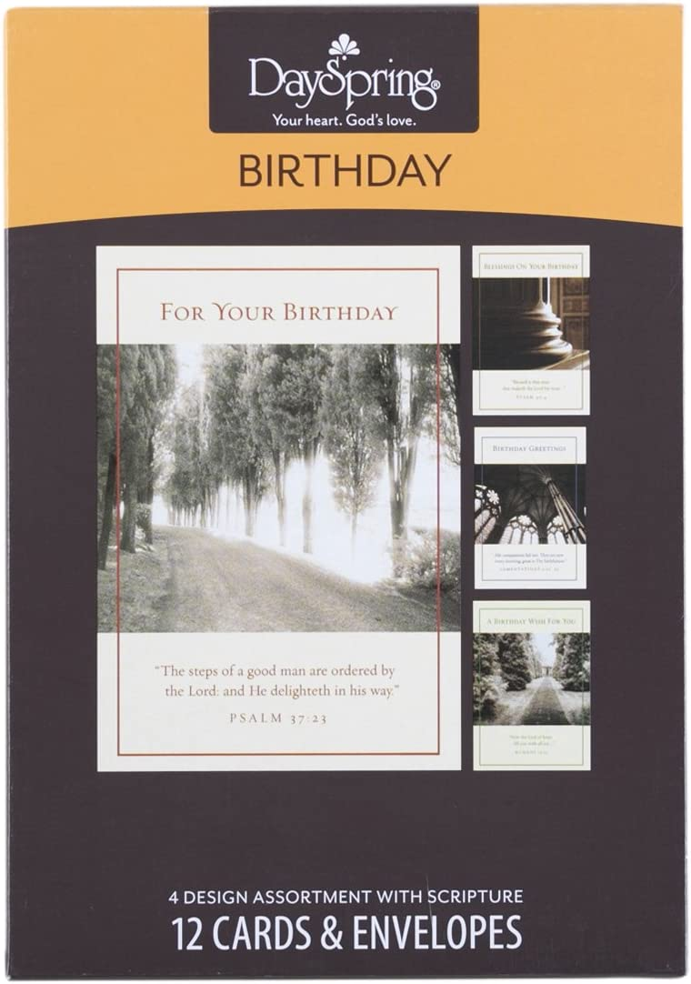 Structures Birthday Inspirational Boxed Cards