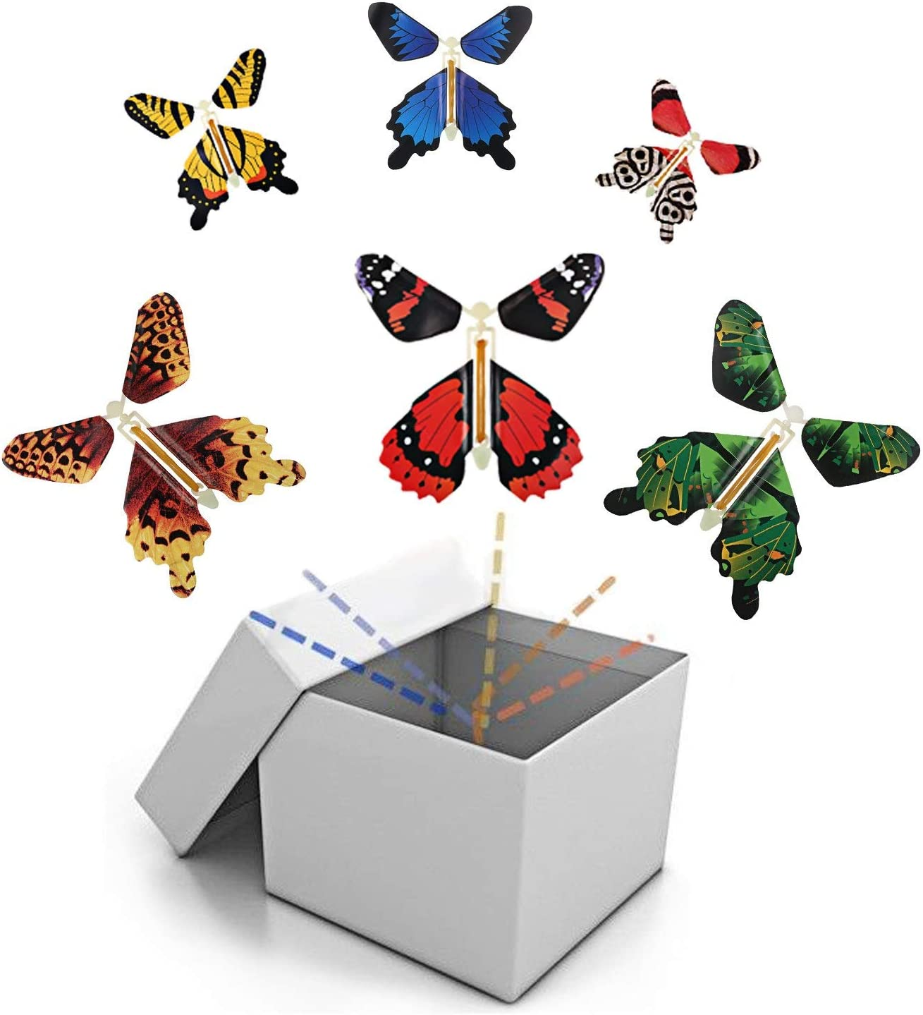 Magic Greeting Card Flying Butterfly With Greeting Cards Toy Gift Surprise