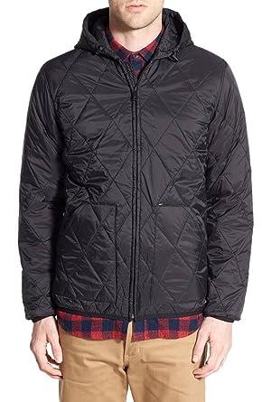 Amazon Transit City Quilted Nylon Hooded Jacket For Men Clothing