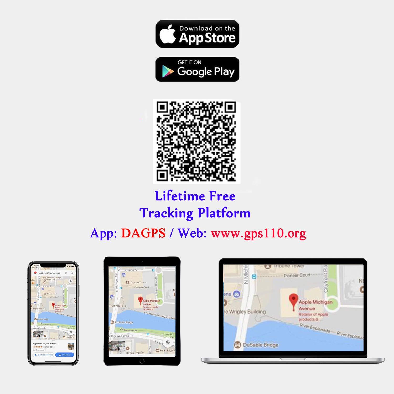 ANKEWAY GPS Tracker per Auto Gratuito per Vita Super App TK205 Mini Localizzatori GPS per Auto in Tempo Reale Antifurto GPS Tracker per 9-90V Tensione Flotta//Camion//Autobus//Moto//Scooter