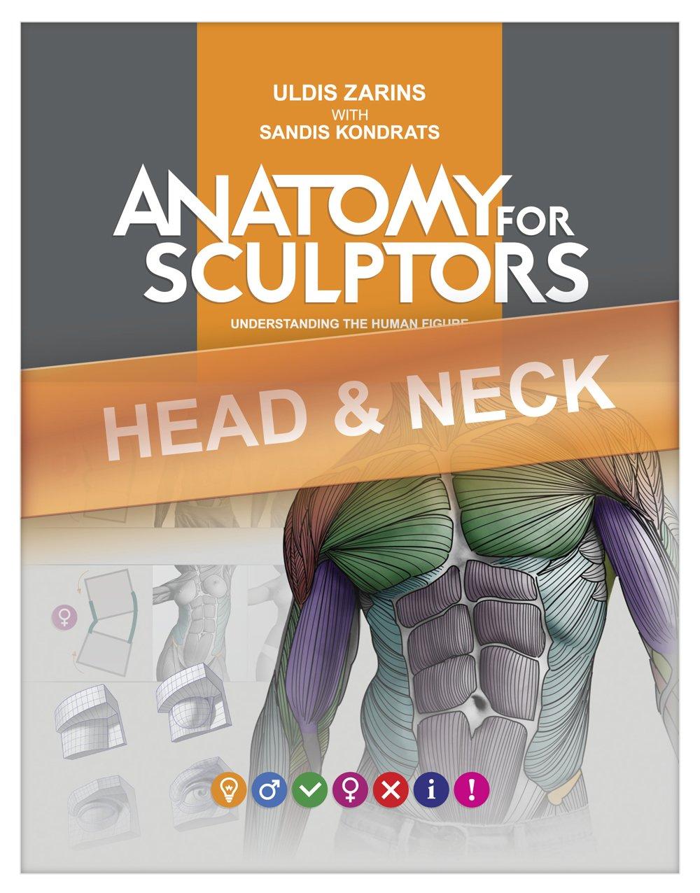 Head & Neck Anatomy For Artists: Understanding the human form (Anatomy For Sculptors Book 2) por Uldis Zarins
