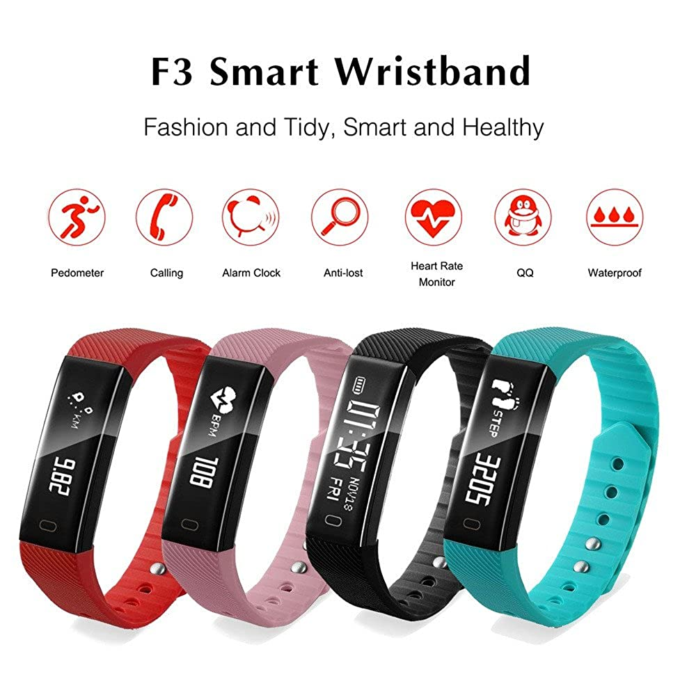 ... Smart Sports Watch,Waterproof Smartwatch with Fitness Tracker,Heart Rate Detection,Remote Camera,Pedometer Watches Compatible for iOS Android: Watches