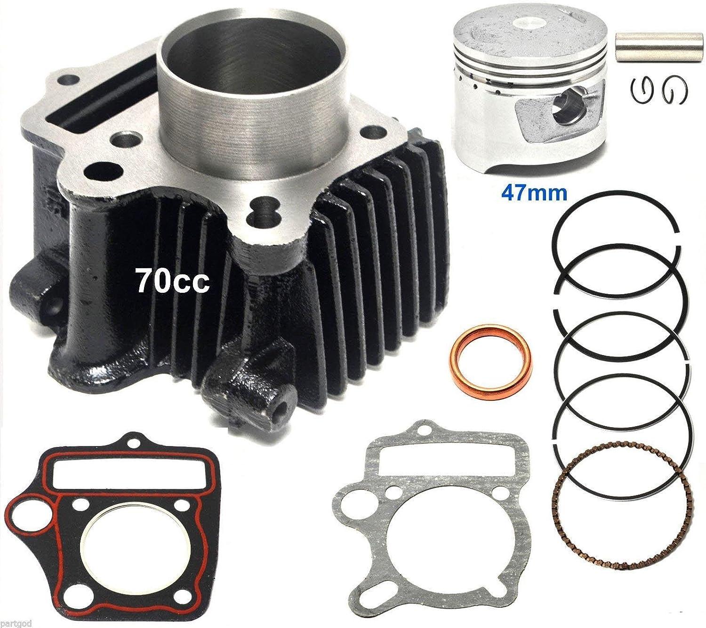 47mm Chinese Piston Kit 70cc 90cc Engine