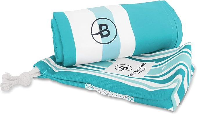 Yellowstone Travel Bath Towel-Bath Towel Microfibre Beach Towel Sports 140 x 90 Large