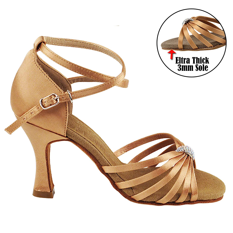 Gold Pigeon schuhe schuhe schuhe Tanzkleiderschuhe (50 Farben) für Frauen B078JTS2HQ Tanzschuhe Lass unsere Waren in die Welt gehen 26c105