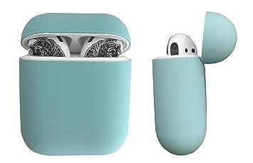 DamonLight Funda de Silicona para Auriculares Airpods Funda de Silicona para Auriculares inalámbricos Apple: Amazon.es: Electrónica