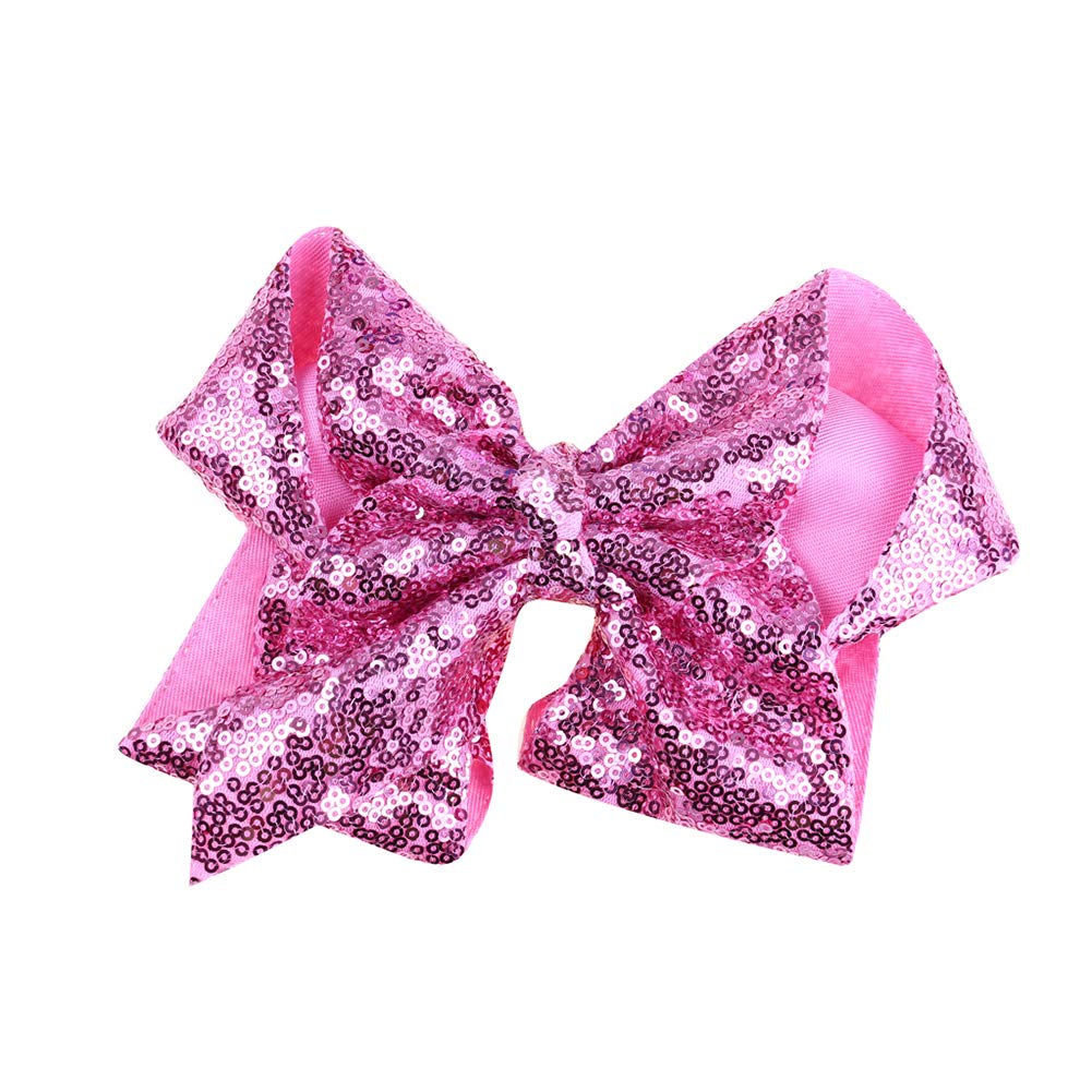 Accessories Bowknot Hairpin  Glitter Bow  Sequins Hair Clips Girl Headwear