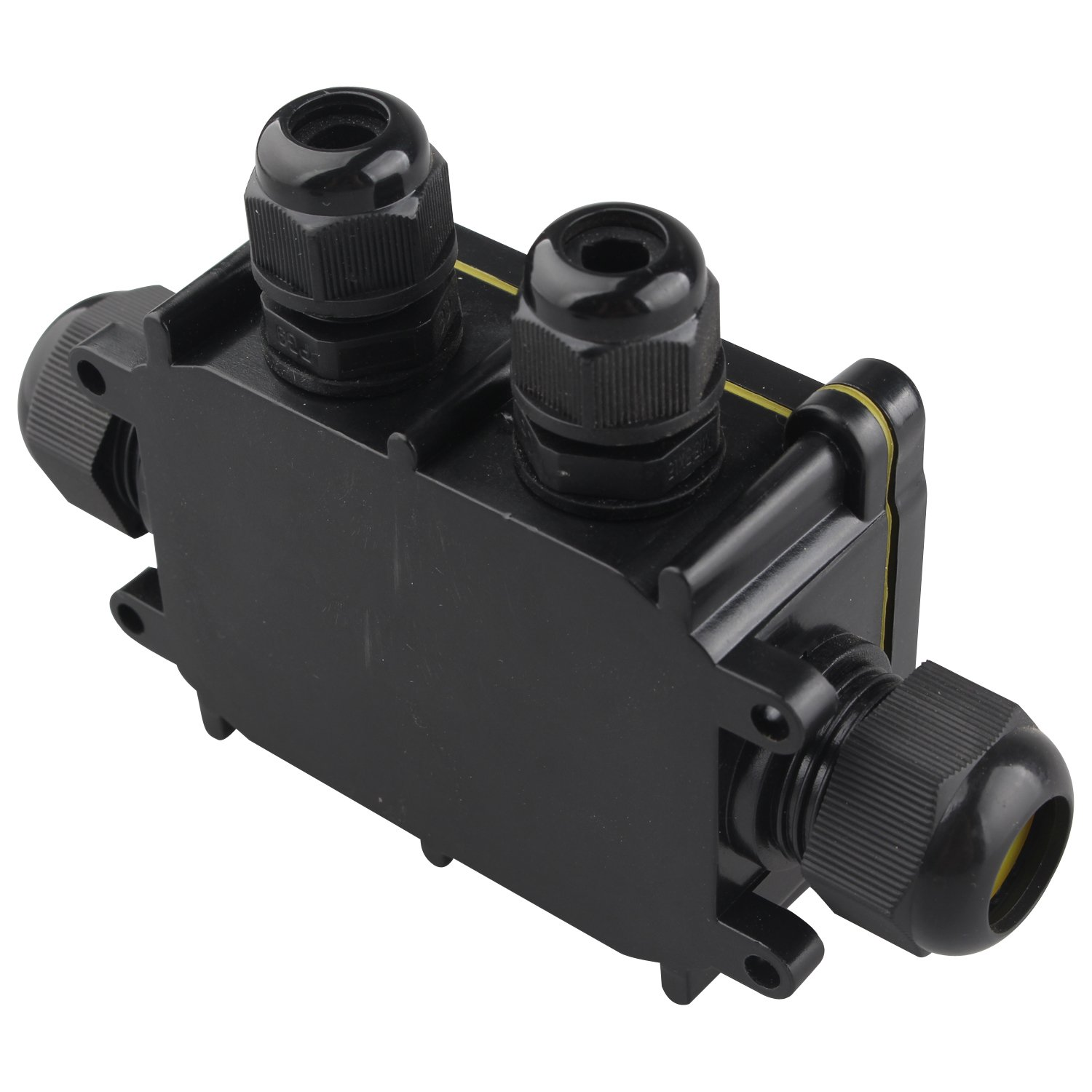 Ip68 Waterproof Junction Box Large 4 Way Cable Connector Outdoor How To Wire Wiring Lighting Electrical External Coupler Gland