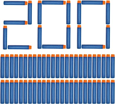 NextX 200 Dardi Universili di Schiuma – Munizioni a Freccette Compatibili con Tutte Le Pistole Giocattolo Nerf, Come Nerf N Strike Elite Series