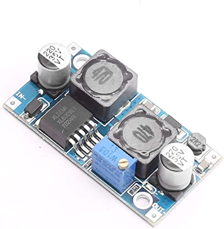 DEVMO DC-DC Boost Buck Adjustable Step up Down Converter XL6009 Module Solar Voltage Circuit Board
