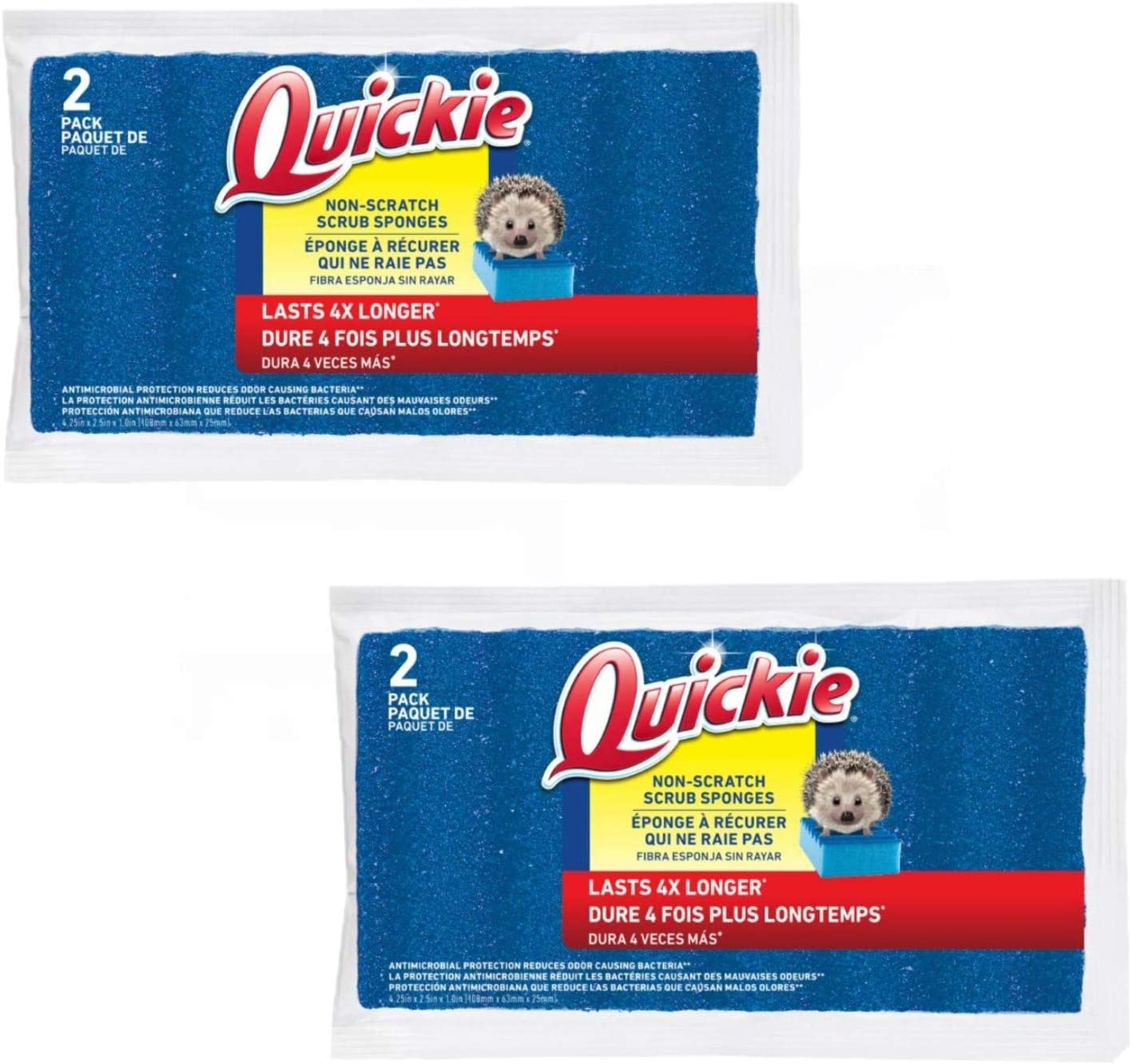Quickie Medium Duty Sponge 2 pk