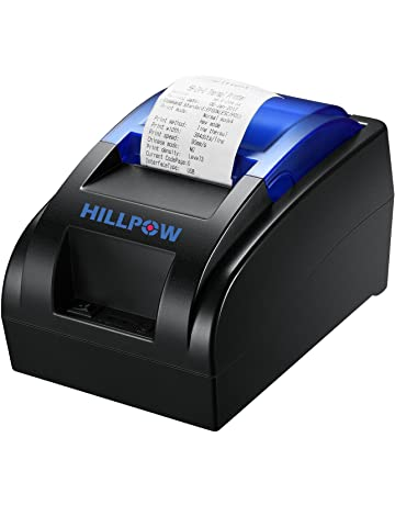 HILLPOW Impresora térmica del recibo del USB de los 58MM, impresión de Alta Velocidad 90m
