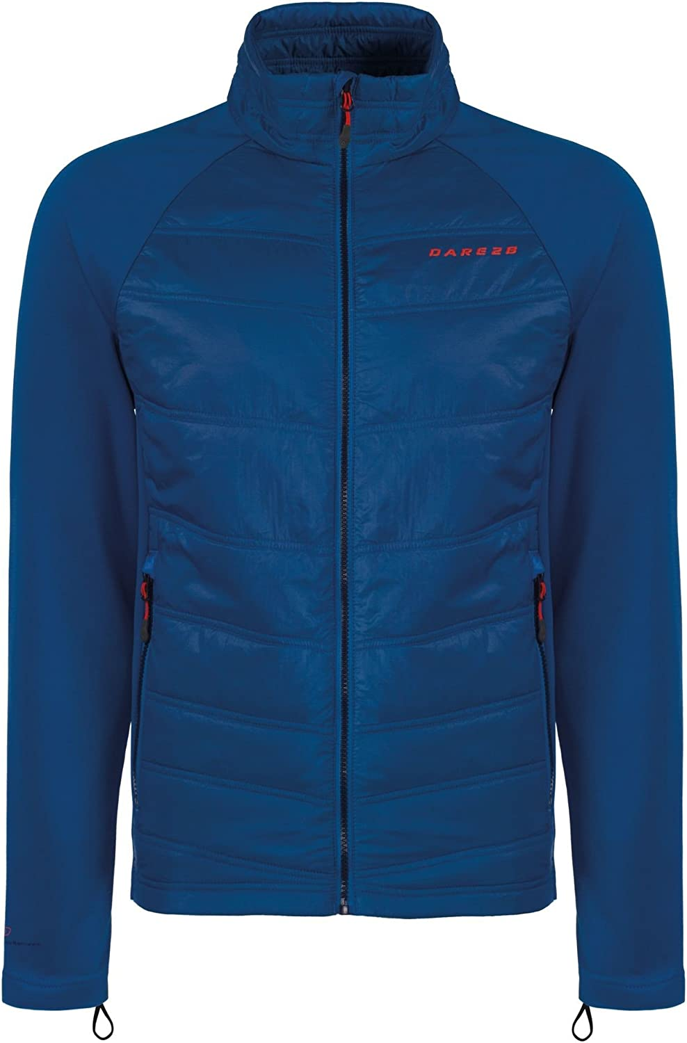 Dare 2b Mens Edge Off Polyamide Wicking Insulated Hybrid Jacket