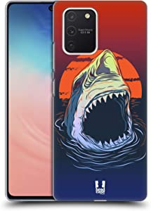 Head Case Designs Hungry Shark Sea Monsters Hard Back Case Compatible with Samsung Galaxy S10 Lite